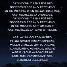 Bedtime poems
