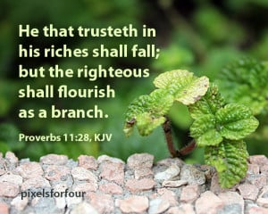 Bible Verse #1: Righteousness