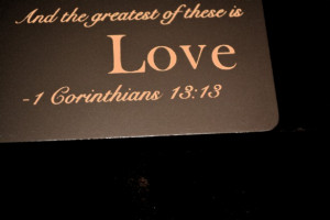 bible quotes about love and faith