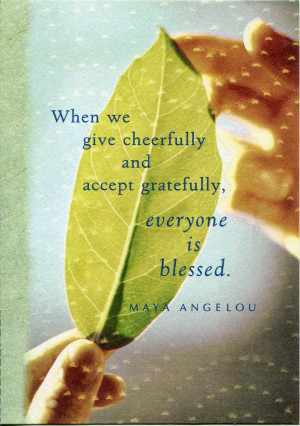 ART | FAV QUOTE FRIDAY: In Honor of the Phenomenal Maya Angelou; A ...