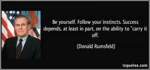 Depend On Yourself Quotes