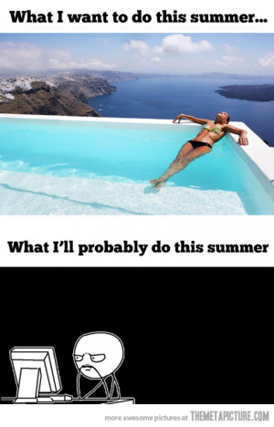Funny photos funny summer swimming pool girl