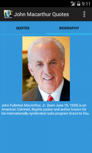John Macarthur Quotes - screenshot