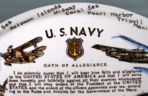 Details about U.S. NAVY Commemorative WWII Collector's Plate*Vernon ...