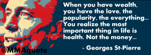 Broke No Money Quotes Gsp quote: the most important