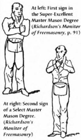 Symbol in the Masonic Lodge