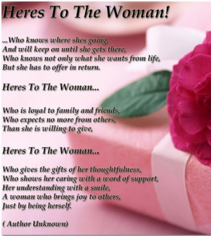Happy Women's day poems and messages