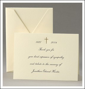 etiquette can make you feel more comfortable in writing sympathy cards ...