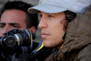 Cary Fukunaga on the set of 'Sin Nombre.'. © Focus Features