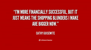 more financially successful, but it just means the shopping ...