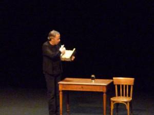 Le Point sur Robert, spectacle de Fabrice Luchini