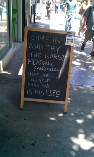 Funny Restaurant Signs (15 Photos)