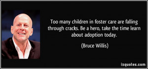 Too many children in foster care are falling through cracks. Be a hero ...