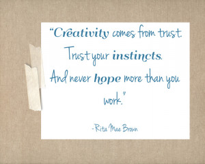 free printable friday {creativity quotes}