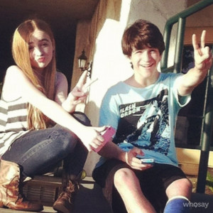 zachary gordon and sabrina carpenter