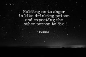 ... Poison And Expecting The Other Other Person To Die - Anger Quote
