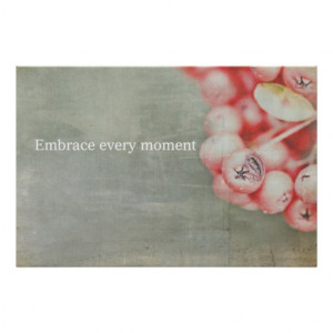 Embrace every moment !! poster