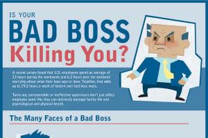 bad boss characteristics is your bad boss killing you