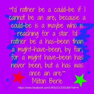 Milton Berle. Our quote:) the memories:)