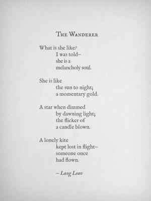 lost popular quotes poetry wanderlust Kite lang leav