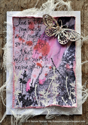 January ATC's by: Belinda, Helena, Loiuse