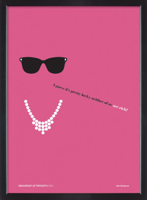 Breakfast at Tiffany's film quote poster Film Quotes, Quotes Posters ...