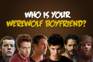 Who Is Your Werewolf Boyfriend?