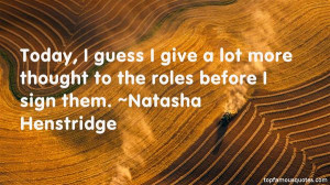 Natasha Henstridge quotes: top famous quotes and sayings from ...