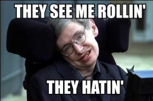"""Stephen Hawking: MANKIND HAS 1,000 YEARS TO """"ESCAPE"""" EARTH"""
