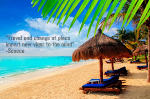 Travel and change of place impart new vigor to the mind. -- Let an ...