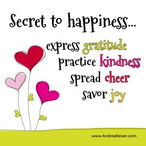 Gratitude Gratitude kindness cheer joy