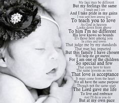 Down syndrome poem More