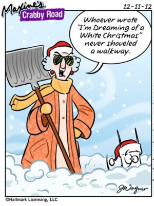 Maxine Christmas Humor