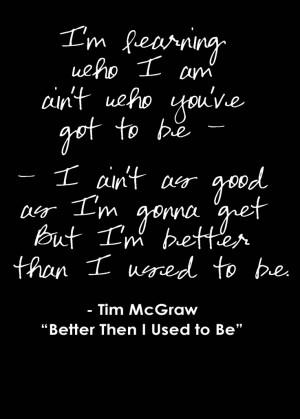 tim mcgraw lyrics