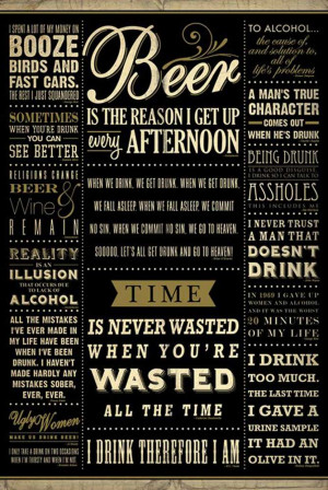 alcohol quotes and beer quotes funny quotes about drinking beer