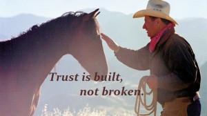 Training horses. Quote.