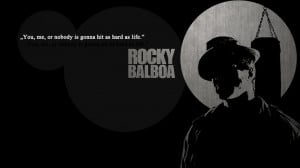 black and white movies quotes boxing rocky balboa rocky the movie ...