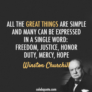 Famous Quotes and Sayings about Justice - All the great things are ...