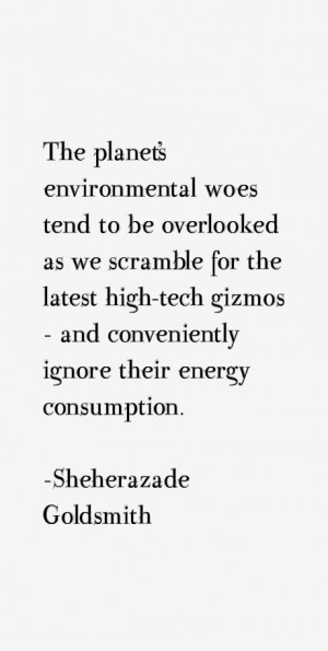 The planet's environmental woes tend to be overlooked as we scramble ...