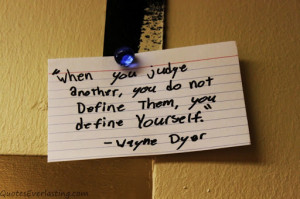 Bible Quotes About Judging Other People