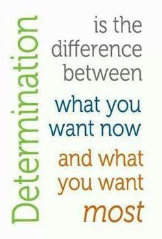 Quotes of determination