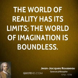 Jean-Jacques Rousseau Imagination Quotes