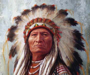Sitting Bull - Portrait Details