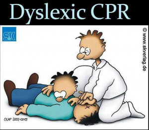 ... : Funny Pictures // Tags: Funny cartoon - Dyslexic CPR // June, 2013