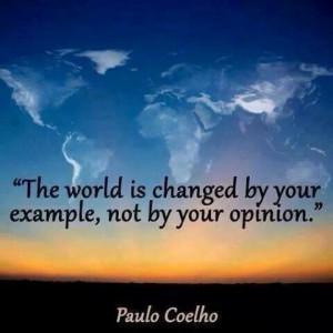 We love Paulo Coelho quotes. : )