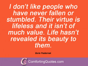 Boris Pasternak Quotations