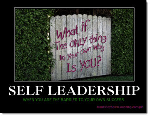 The Biggest Barrier to Success in Personal Leadership