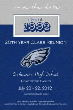 OHS Class of 1992 20 Year Reunion