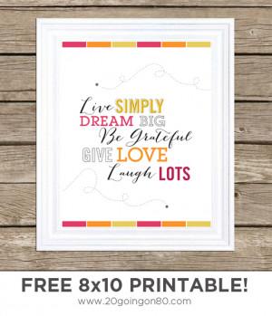 free printable wall quotes and sayings free printable wall art