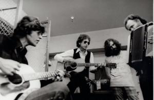 Robbie Roberton, Dylan, Richard Manuel, Garth Hudson